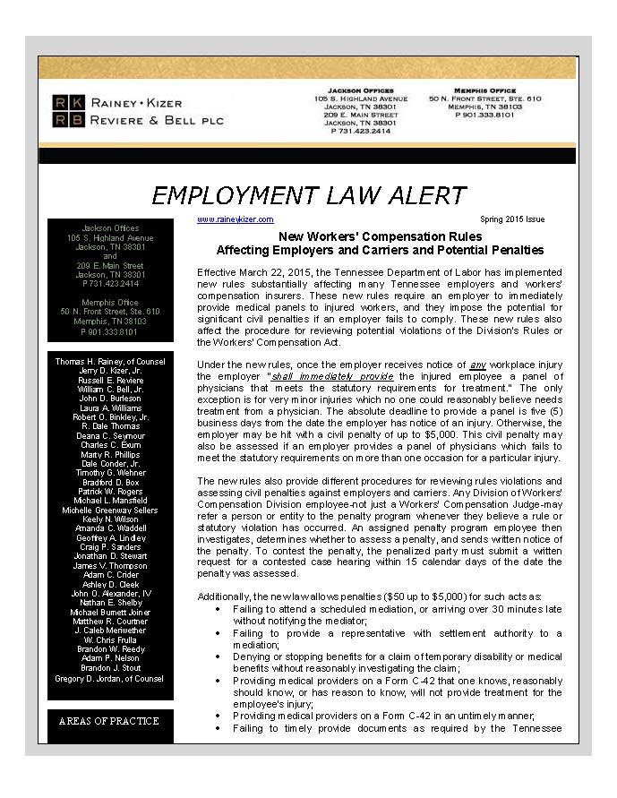 Employment Law Alert - Spring 2015_Page_1